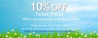 10% off if you buy 2 items in store